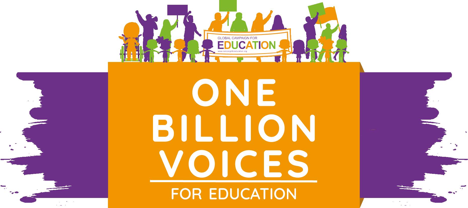 #OneBillionVoices Logo