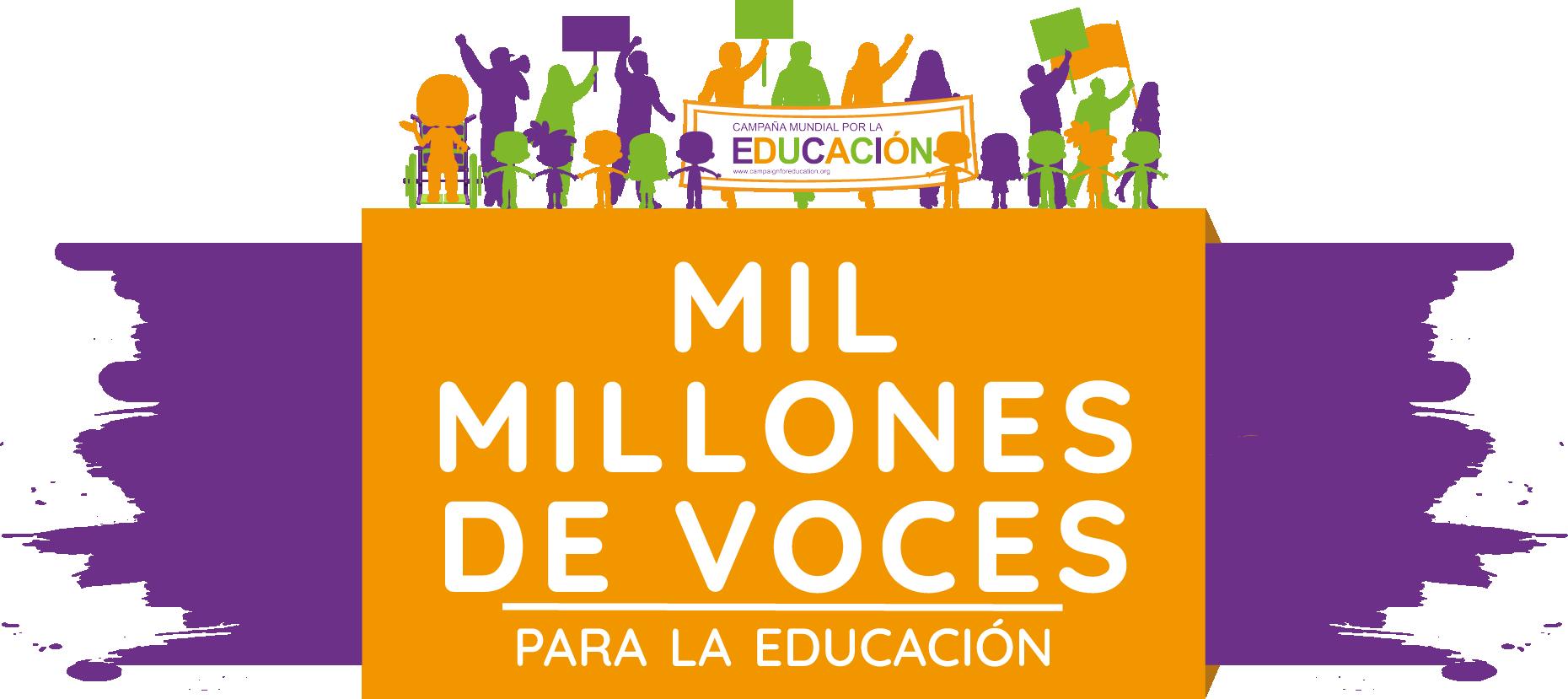Logo #MilMillonesDeVoces